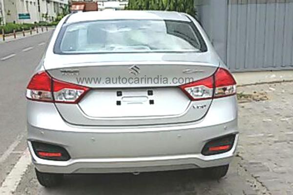Maruti Suzuki Ciaz rear profile