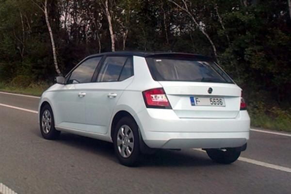 New 2015 Skoda Fabia rear