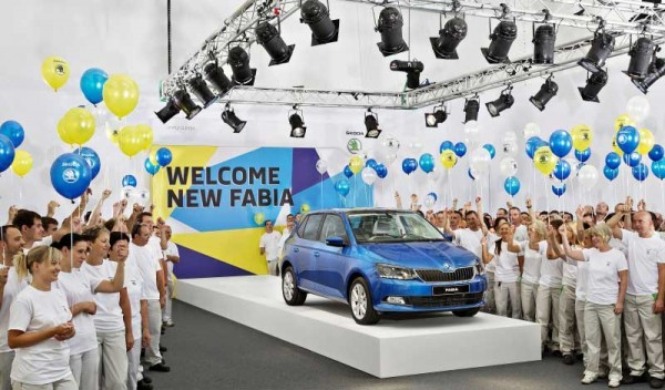 New Skoda Fabia production