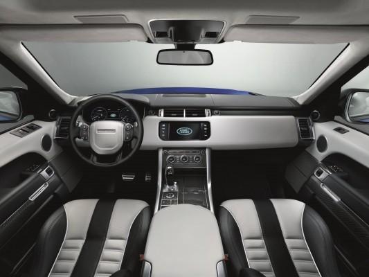 Range Rover Sport SVR interiors