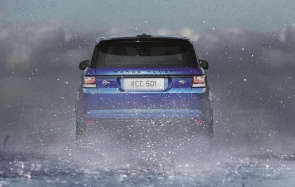 Range Rover Sport SVR rear