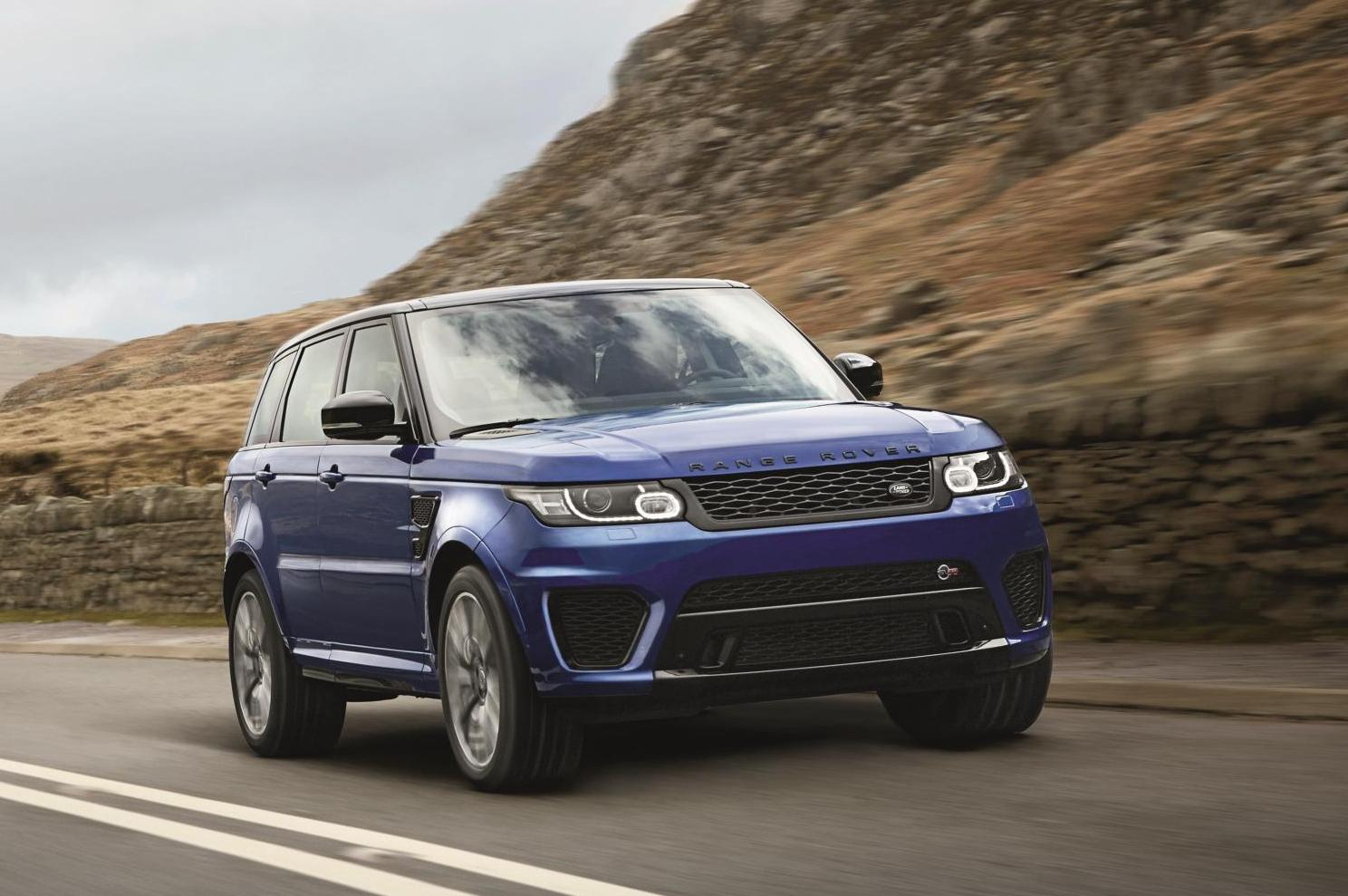 fastest ever range rover sport svr all set for pebble beach global debut india car news. Black Bedroom Furniture Sets. Home Design Ideas