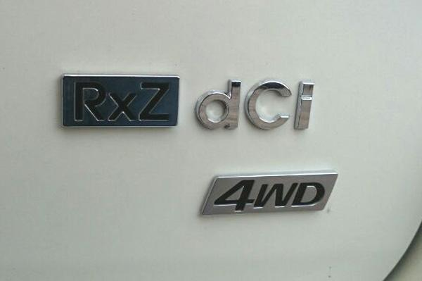 Renault Duster 4WD badge