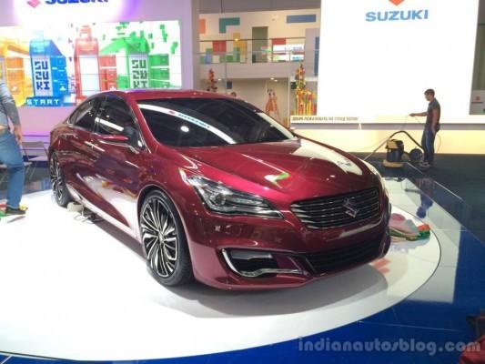 Suzuki Ciaz Moscow Auto Show