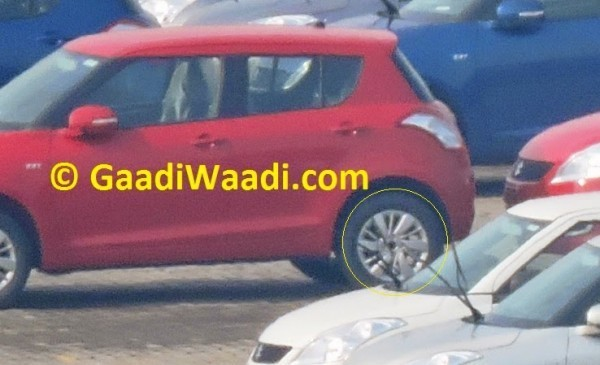 Suzuki Swift Sport alloy wheels