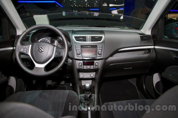 Maruti Swift facelift Interiors