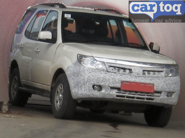 Tata Safari Storme facelift