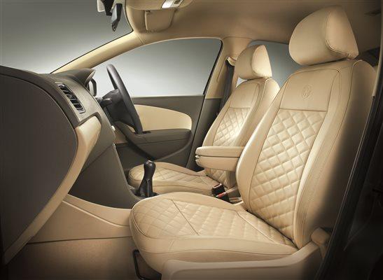 Volkswagen Vento Konekt leatherette seats