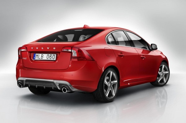 Volvo S60 R-Design rear profile