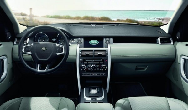 2015 Land Rover Discovery Sport interiors