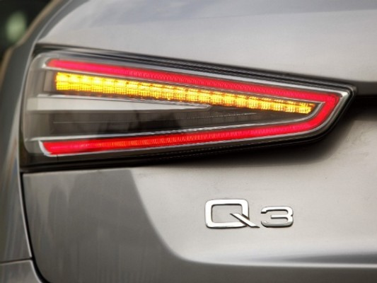 Audi Q3 Dynamic Edition taillamps