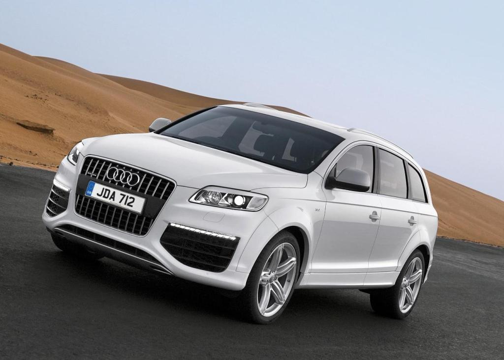 updated audi q7 suv line up introduced. Black Bedroom Furniture Sets. Home Design Ideas