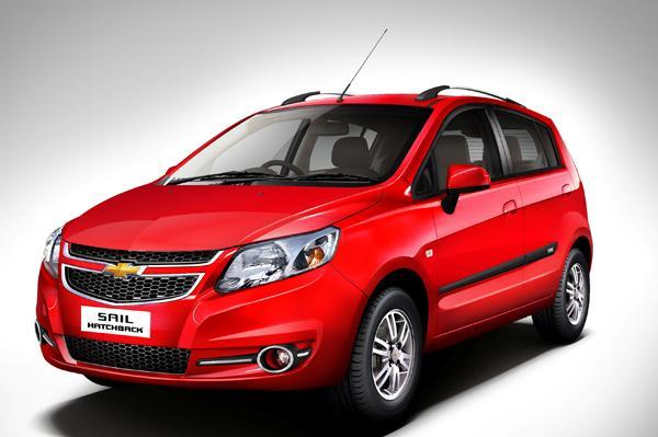 Chevrolet Sail hatchback facelift