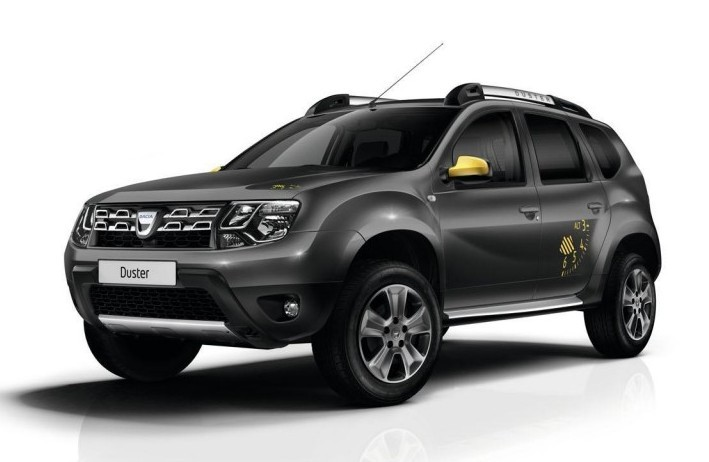 Dacia Duster Air Edition front fascia