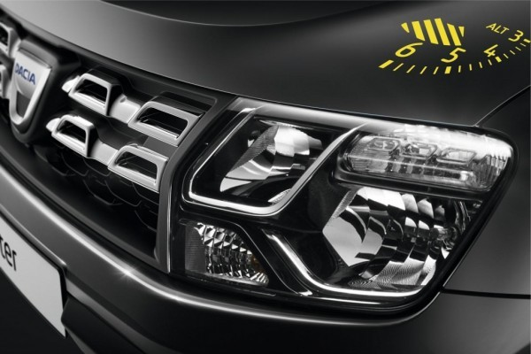 Dacia Duster Air Edition headlampsDacia Duster Air Edition headlamps