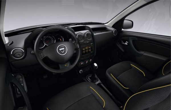 Dacia Duster Air Edition interiors