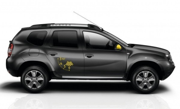 Dacia Duster Air Edition side profile