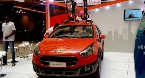 Fiat Avventura on display