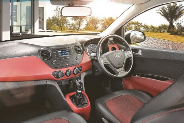 Hyundai Grand i10 SportZ Edition interiors