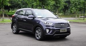 Hyundai ix25 compact SUV font quarter