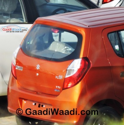 Maruti Suzuki Alto K10 AMT facelift rear end