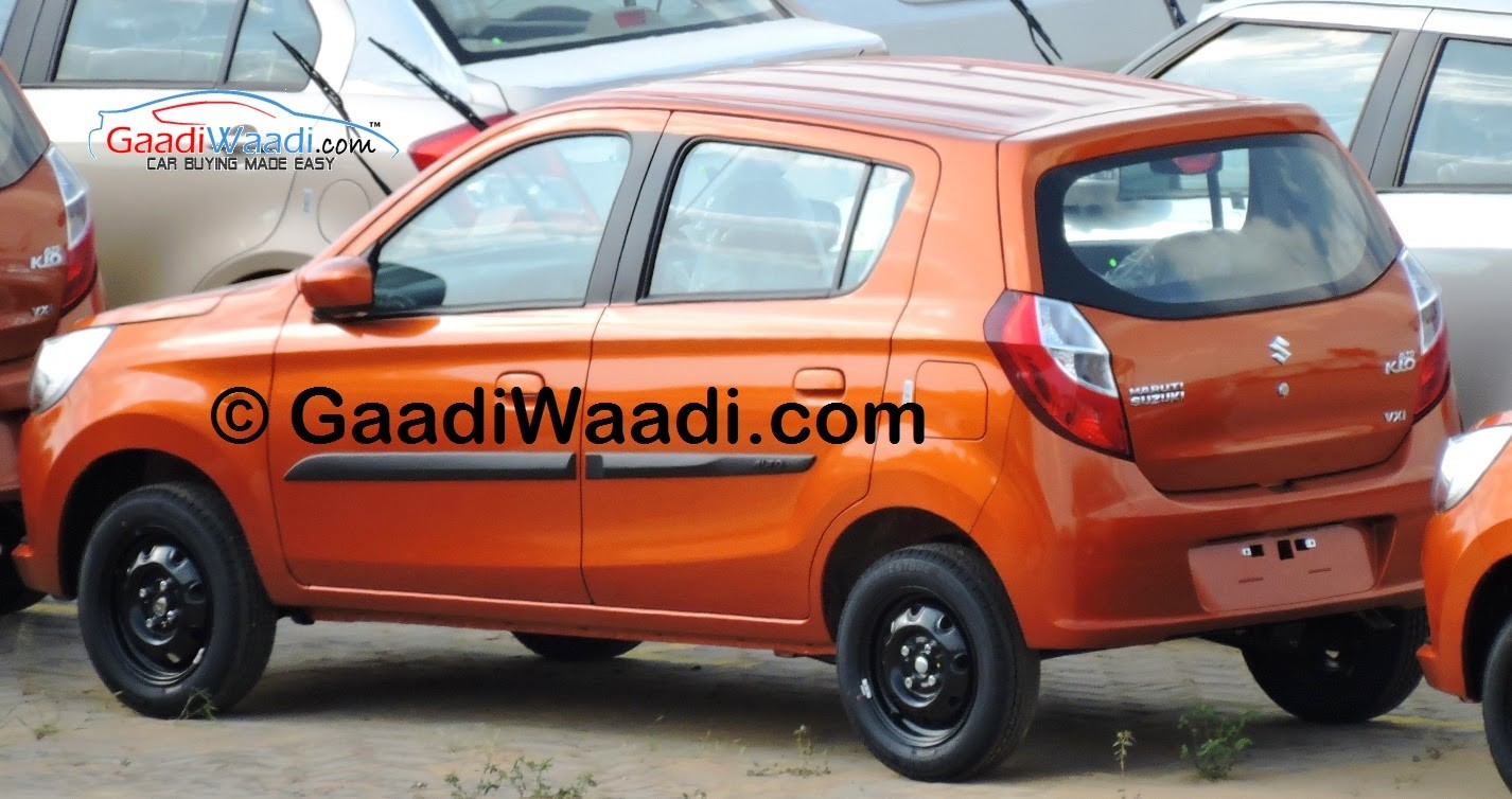 maruti suzuki alto k10 amt facelift with spied pictures