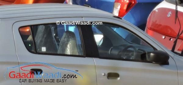 Maruti Suzuki Alto K10 AMT facelift steering wheel