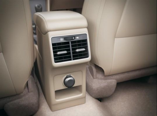 Maruti Suzuki Ciaz rear AC vents