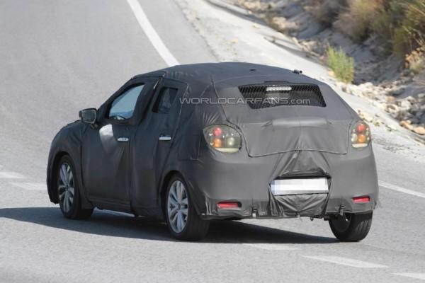 Maruti Suzuki YRA Premium hatchback rear spied
