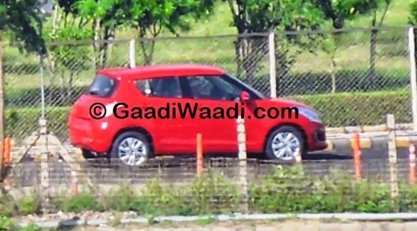 Maruti Swift facelift side profile