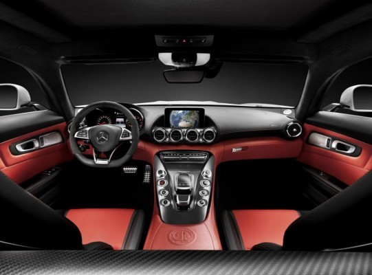 Mercedes-Benz AMG GT interiors