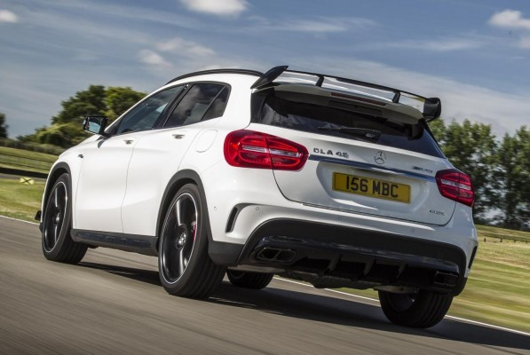 Mercedes-Benz GLA 45 AMG rear profile