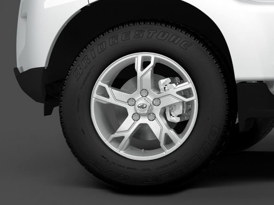 New Mahindra Scorpio alloys