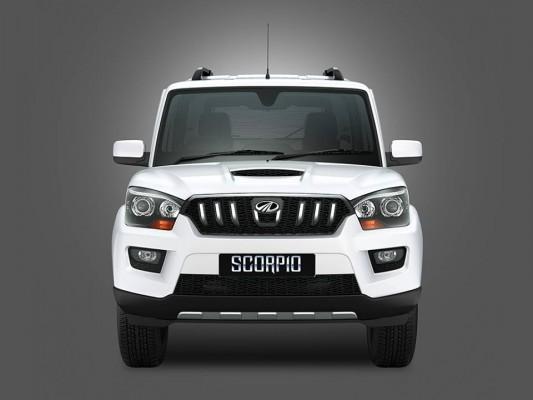 New Mahindra Scorpio front fascia