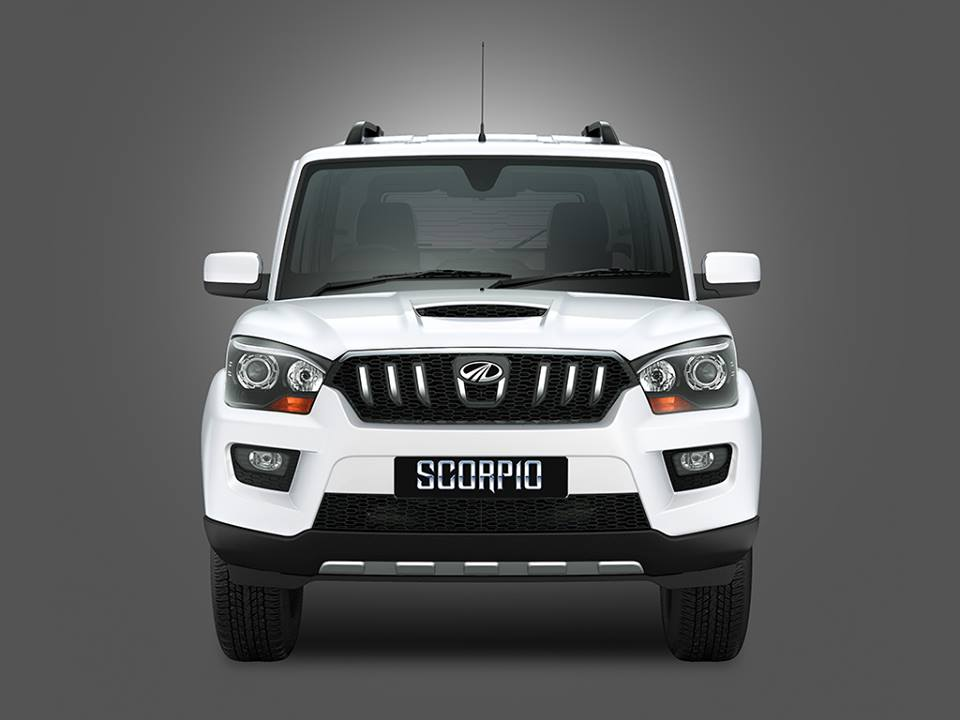 New Mahindra Scorpio Exterior And Interior Pictures