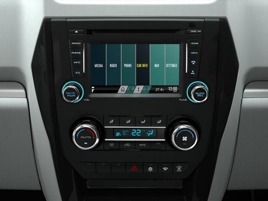 New Mahindra Scorpio infotainment system