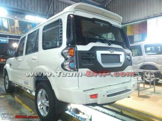 New Mahindra Scorpio rear profile