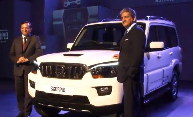 New Generation Mahindra Scorpio