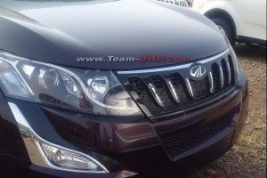 New Mahindra XUV500 Facelift Front fascia picture
