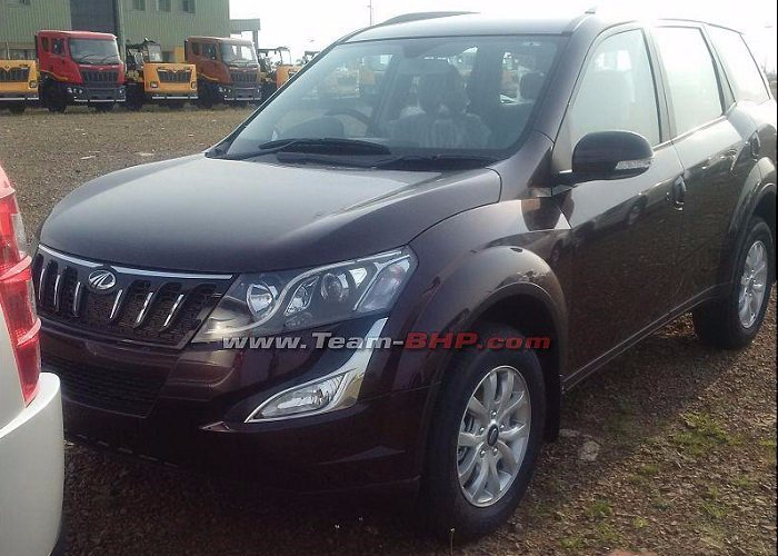 New Mahindra XUV500 Facelift Front side picture