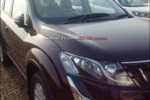New Mahindra XUV500 Facelift side picture