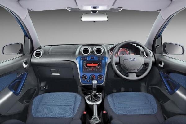 Refreshed Ford Figo interiors