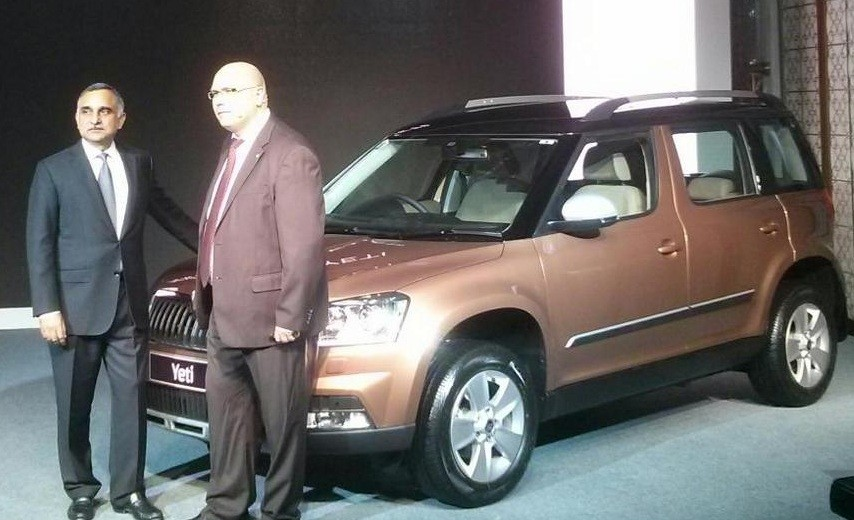 Skoda Yeti facelift launched; priced at Rs. 18.9 lakh