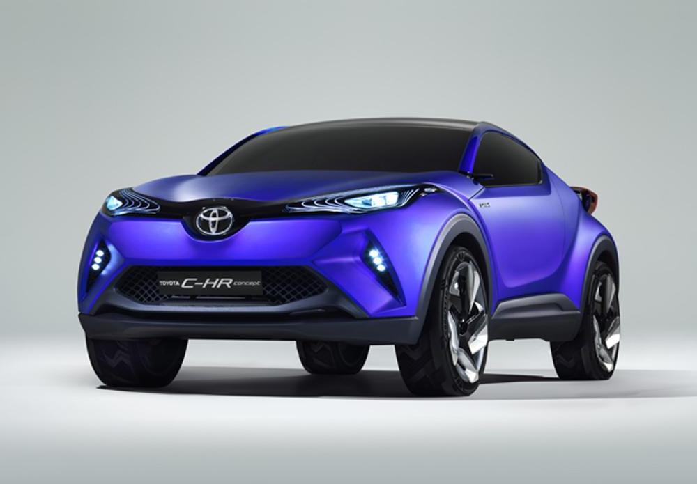 Toyota CH-R crossover concept