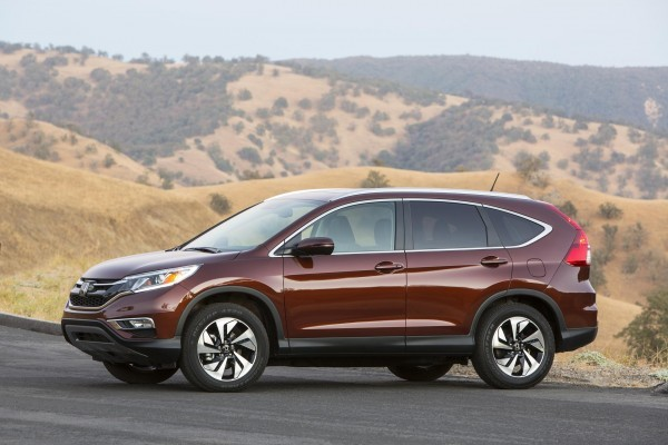 2015 Honda CR-V Facelift side profile