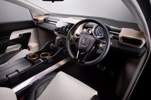 Honda Compact SUV Concept Interior Picture