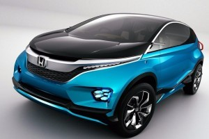 Honda Compact SUV Concept front picture