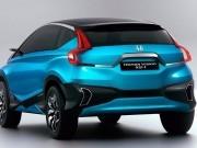 Honda Compact SUV Concept rear picture