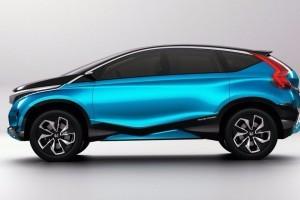 Honda Compact SUV Concept side picture