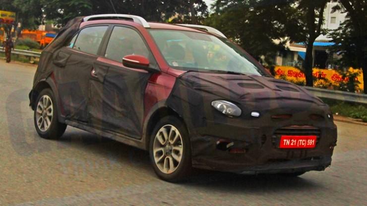 Hyundai Elite i20 crossover front fascia